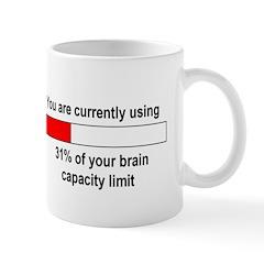 BRAIN CAPACITY LIMIT Mug