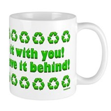 You can't take it with you... Mug