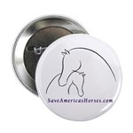 """Save Americas Horses 2.25"""" Button (10 pack)"""