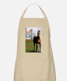 Save Americas Horses Grooming Apron