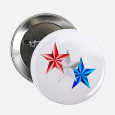 """Stars 2.25"""" Button (10 pack)"""
