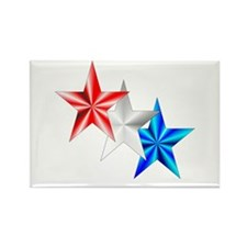 Stars Rectangle Magnet (100 pack)
