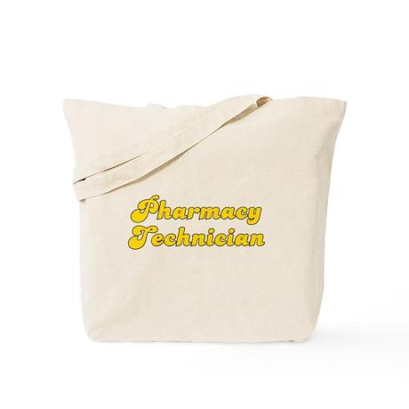 Retro Pharmacy Te.. (Gold) Tote Bag