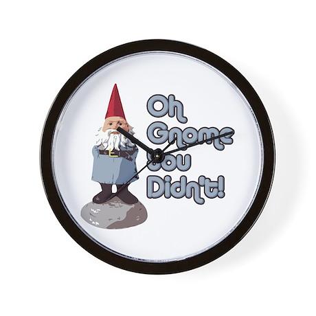 Gnome you didn't Wall Clock