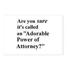 Power of Attorney Postcards (Package of 8)
