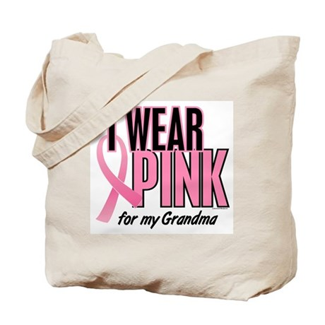 I Wear Pink For My Grandma 10 Tote Bag