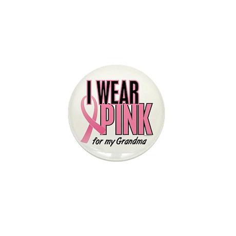 I Wear Pink For My Grandma 10 Mini Button
