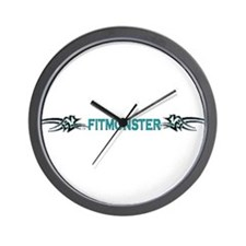FITMONSTER TRIBAL SECTION Wall Clock