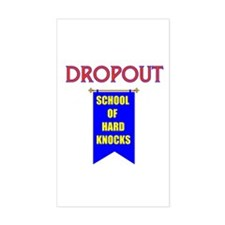 DROPOUT Rectangle Decal