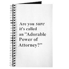 Power of Attorney Journal