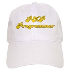 Retro PHP Program.. (Gold) Baseball Cap