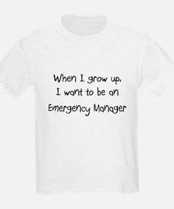 When I grow up I want to be an Emergency Manager K