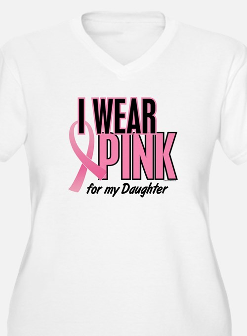I Wear Pink For My Daughter 10 T-Shirt