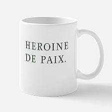 Custom Heroine de Paix Mug