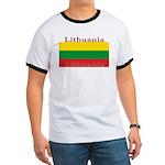 Lithuania Lithuanian Flag Ringer T