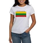 Lithuania Lithuanian Flag Women's T-Shirt