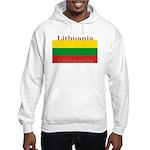 Lithuania Lithuanian Flag Hooded Sweatshirt