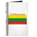 Lithuania Lithuanian Flag Journal