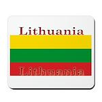 Lithuania Lithuanian Flag Mousepad