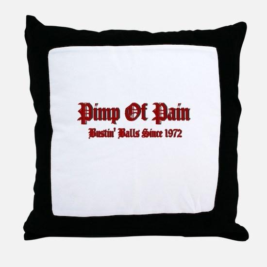 Unique Pimp Throw Pillow