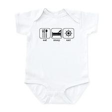 Eat Sleep Sail 2 Infant Bodysuit