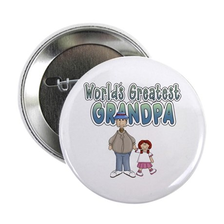 "World's Greatest Grandpa 2.25"" Button"