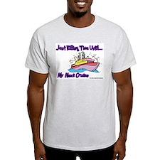Cruise Lover Boat Ash Grey T-Shirt