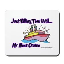 Cruise Lover Boat Mousepad
