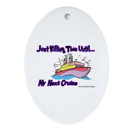 Cruise Lover Boat Keepsake (Oval)
