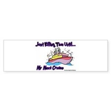 Cruise Lover Boat Bumper Bumper Sticker
