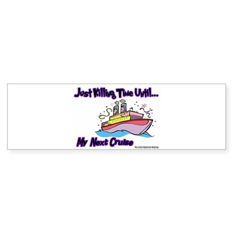 Cruise Lover Boat Bumper Sticker