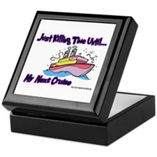 Cruise Lover Boat Keepsake Box