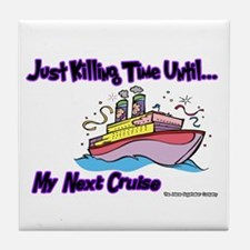 Cruise Lover Boat Tile Coaster