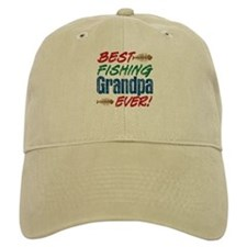 Best Fishing Grandpa Ever! Baseball Cap