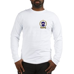 BAUDOIN Family Crest Long Sleeve T-Shirt