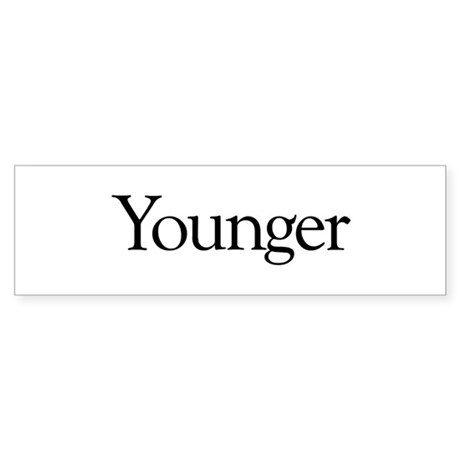 Younger (middle child) Bumper Sticker
