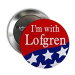I'm with Lofgren campaign button