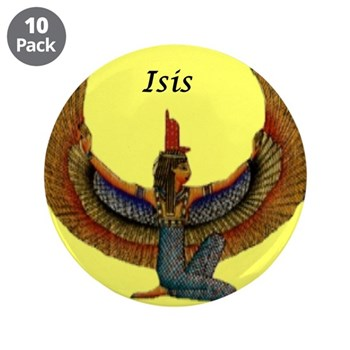 """Great Isis 3.5"""" Button (10 pack)"""