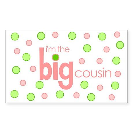 big cousin t-shirt Rectangle Sticker