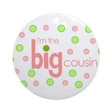 big cousin t-shirt Ornament (Round)