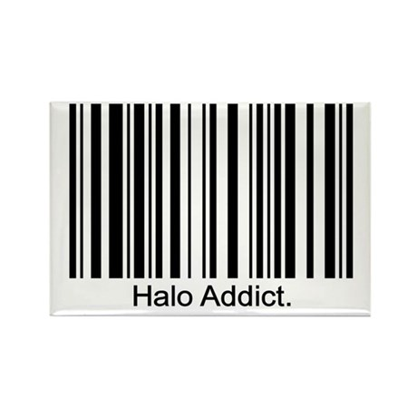 Halo Addict Rectangle Magnet (10 pack)