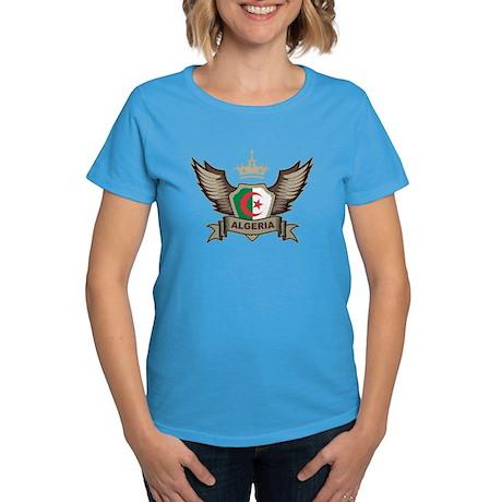Algeria Emblem Women's Dark T-Shirt
