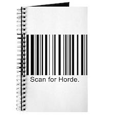 Scan for Horde Journal