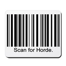 Scan for Horde Mousepad