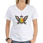 Andorra Emblem Women's V-Neck T-Shirt