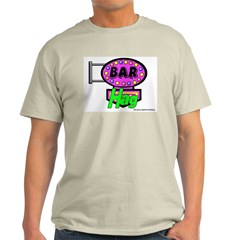 Bar Hag Ash Grey T-Shirt