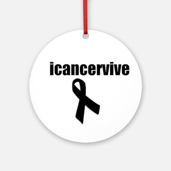 icancervive Ornament (Round)