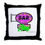 Bar Hag Throw Pillow