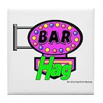 Bar Hag Tile Coaster