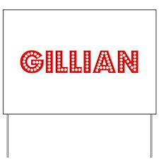 Retro Gillian (Red) Yard Sign